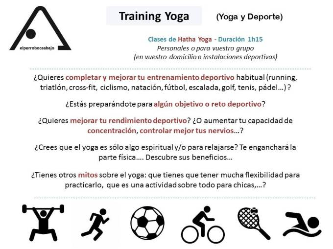 Training Yoga